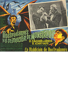 Cartel Nostradamus, El Destructor De Monstruos