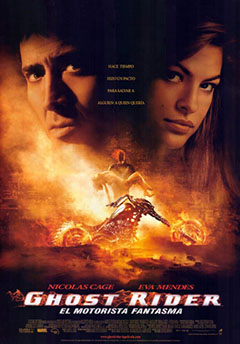Cartel El Motorista Fantasma (Ghost Rider)