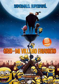 Cartel Gru, mi villano favorito
