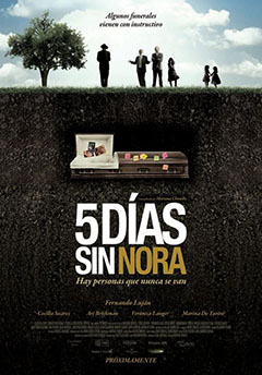 Cartel Cinco días sin Nora
