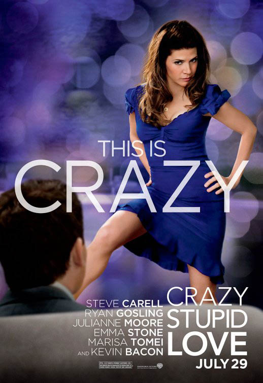 Cartel promocional Crazy, stupid, love 3