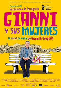 Cartel Gianni y sus mujeres
