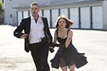 Foto Amanda Seyfried y Justin Timberlake en In time