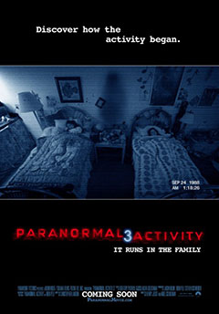 Cartel Paranormal Activity 3
