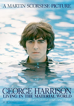 Cartel George Harrison: Living in the Material World
