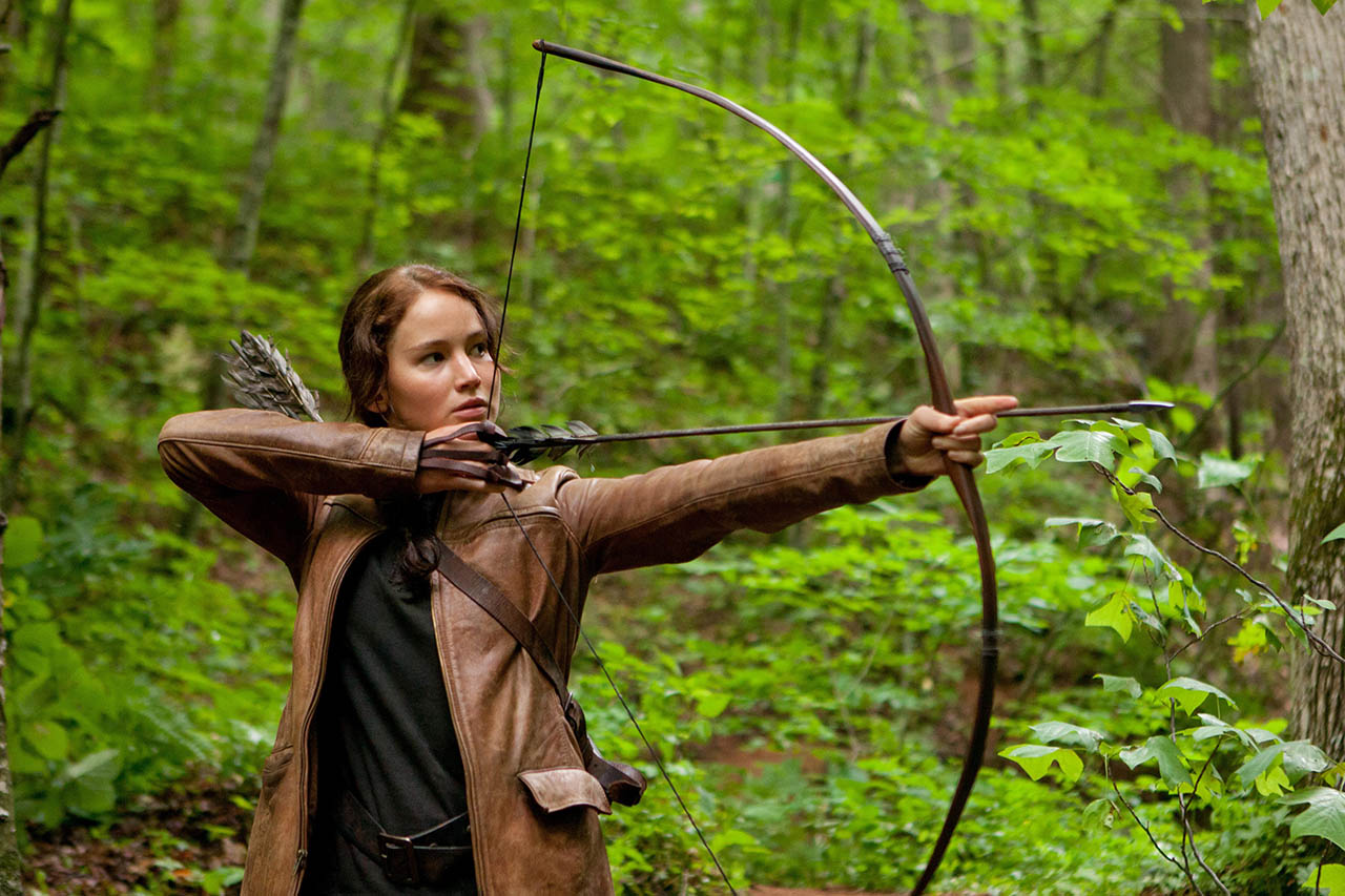Foto Katniss Everdeen (Jennifer Lawrence) en LOS JUEGOS DEL HAMBRE