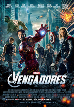 Cartel Los vengadores