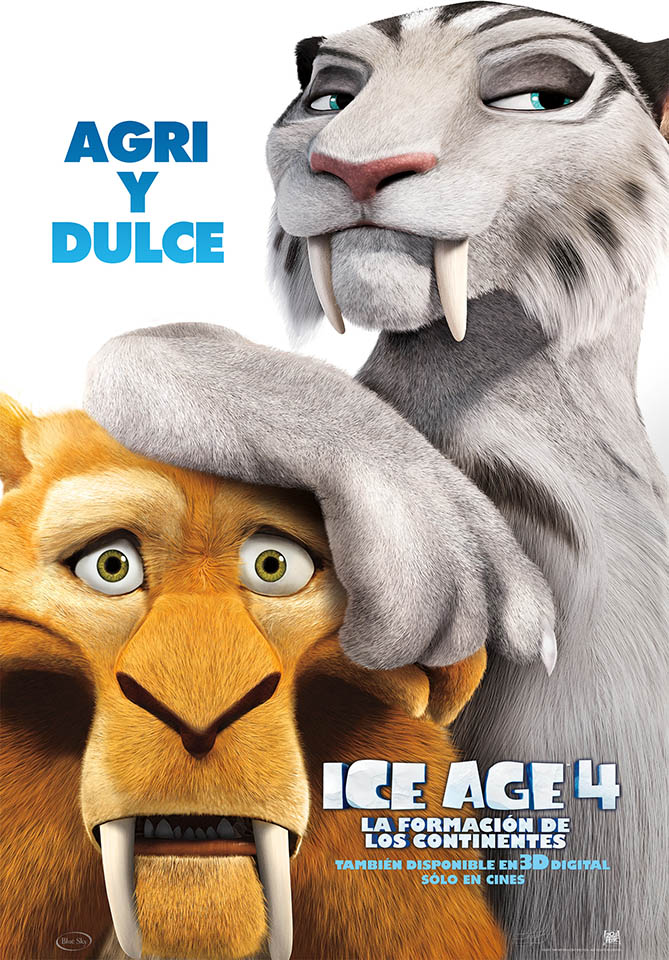 Foto ICE AGE 4 : Diego y Shira