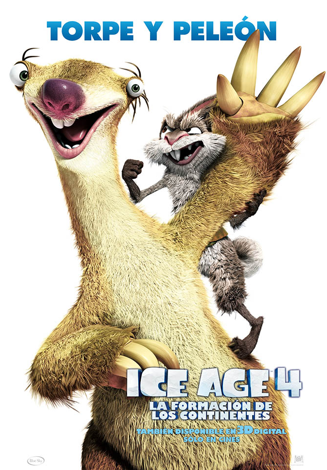 Fotos ICE AGE 4: Sid el Perezoso