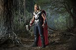 Foto Chris Hemsworth como Thor en Los vengadores