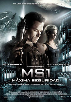 Cartel MS1: Mxima Seguridad
