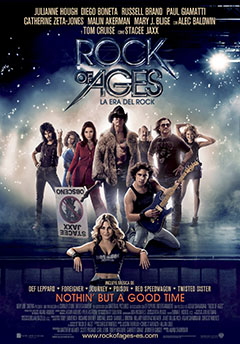 Cartel La Era del Rock (Rock of Ages)