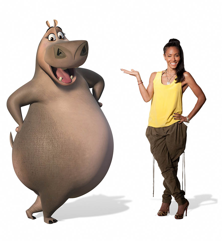 Madagascar 3 Characters Voices Foto personaje Jada Pi...