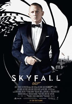 Cartel James Bond: Skyfall