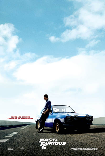 Cartel Fast and Furious 6 (A todo gas 6) 3