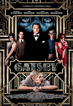 Cartel El gran Gatsby 3D