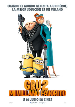 Cartel Gru 2, mi villano favorito