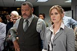 Foto Amy Adams y Laurence Fishburne en Superman: el hombre de acero de Lois Lane y Perry White