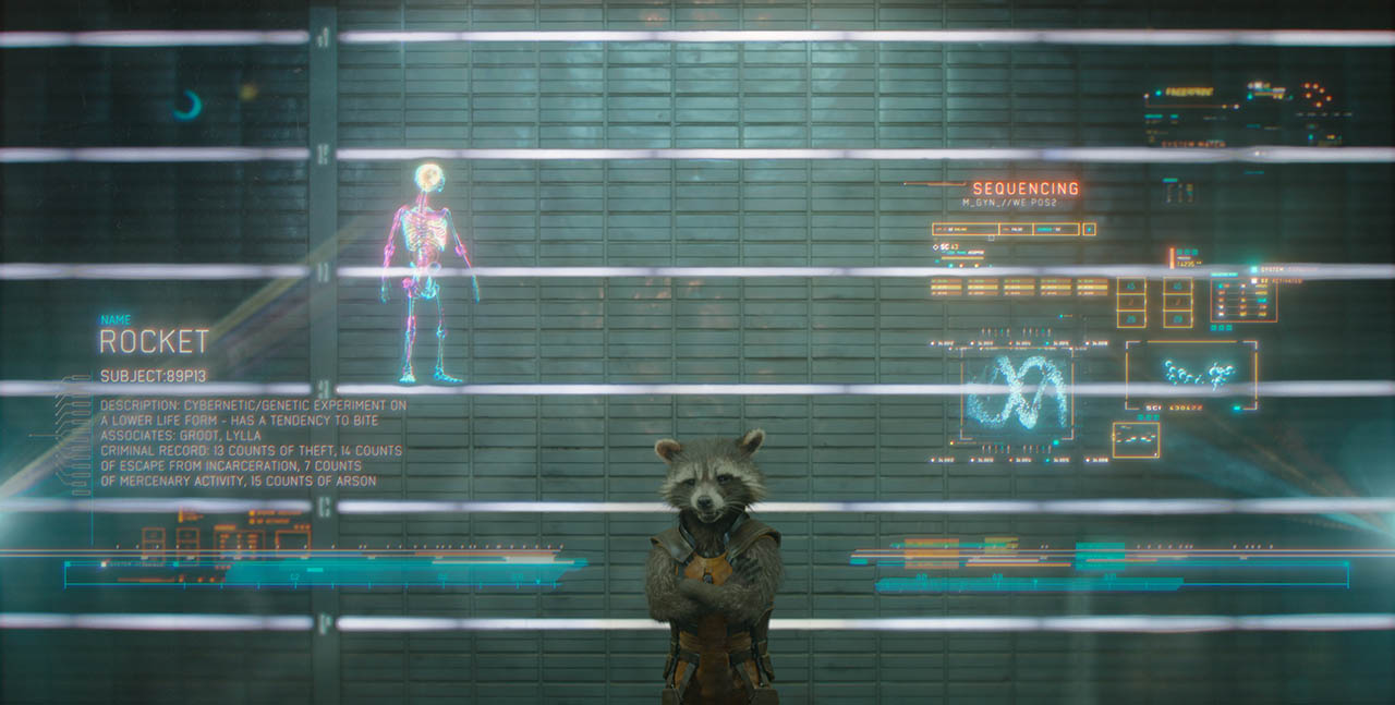 Foto Rocket Raccoon en Guardianes de la Galaxia 2