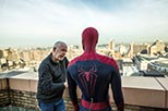 Foto rodaje Andrew Garfield y Mark Webb  The Amazing Spider-Man 2: El poder de electro 2