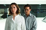 Foto Johnny Depp y Rebecca Hall en Transcendence