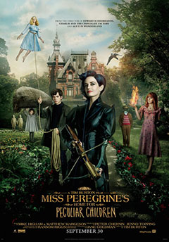 Cartel Miss Peregrine's Home for Peculiar Children