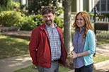 Foto Isla Fisher y Zach Galifianakis como  y