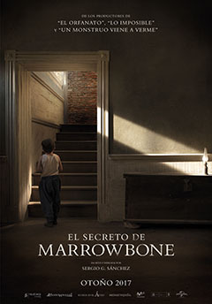 Cartel El secreto de Marrowbone